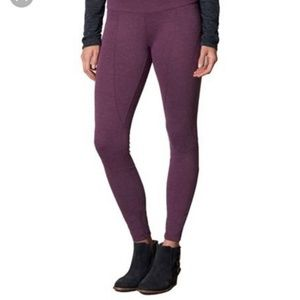 Prana moto leggings - purple